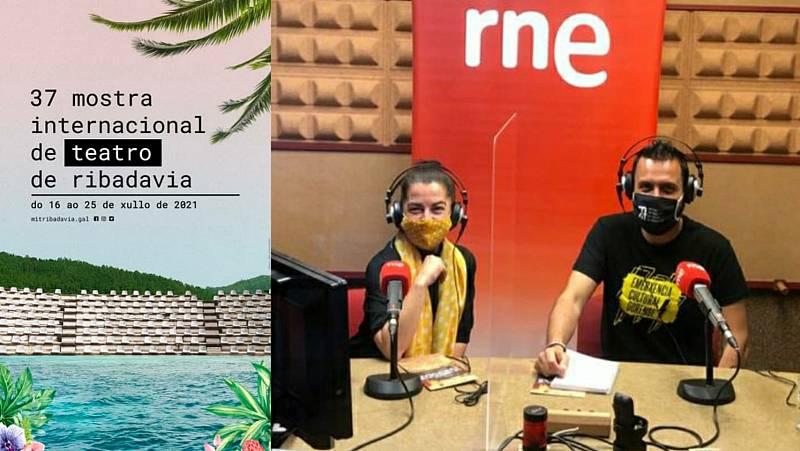 La sala - Roberto Pascual, director de la MIT de Ribadavia, y Fina Calleja (Sarabela Teatro) - 30/06/21 - Escuchar ahora