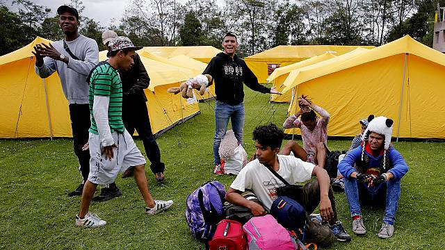 Refugiados y desplazados en América Latina