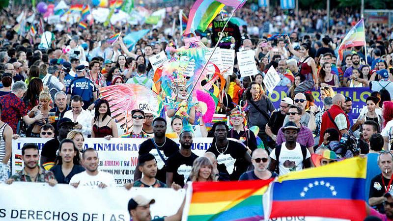 14 horas Fin de Semana - El Orgullo LGTBI: Diversidad y amor contra los prejuicios - Escuchar ahora