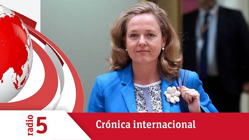 Crónica internacional - El G20 debate en Venecia sobre el impuesto a las multinacionales - Escuchar ahora