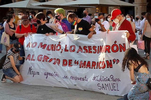 ¿Por qué es homófobo el asesinato de Samuel Luiz?