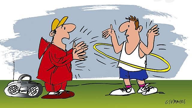 El hula hoop y la mente que lo parió