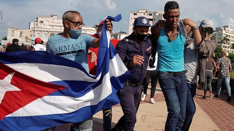 Cinco Continentes - En Cuba, el descontento crece en las calles - Escuchar ahora