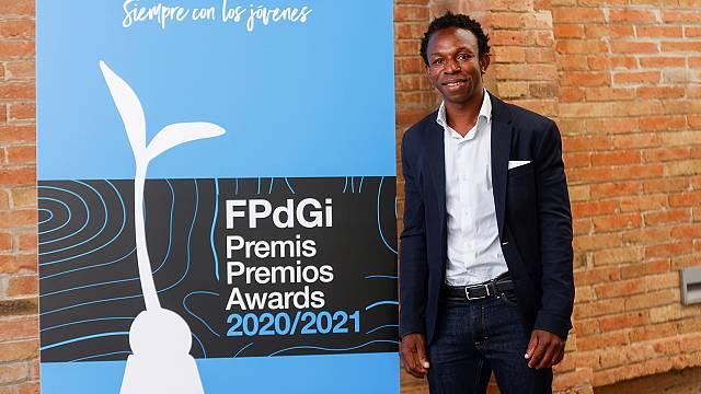 Ousman Umar, Premio Princesa de Girona Social 2021