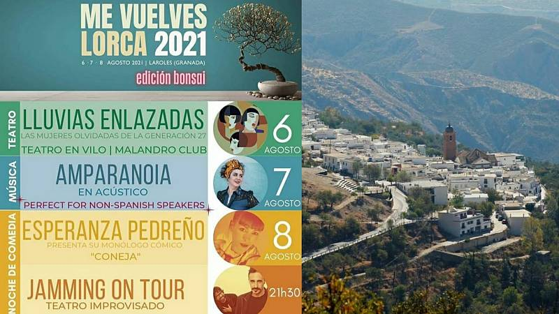 La sala - VII Festival Me vuelves Lorca de Laroles, por Berta Tapia - 16/07/21 - Escuchar ahora