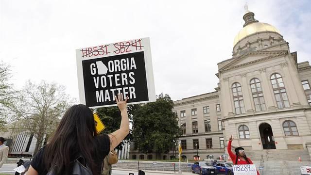 Intento de los republicanos de restringir el voto en EE. UU.