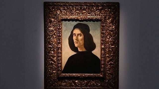 EL Bellas Artes de Valencia exhibe un retrato de  Botticelli