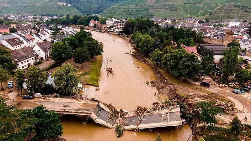 Cinco Continentes - El norte de Europa asolado por las inundaciones - Escuchar ahora