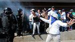 Vilma Núñez denuncia la represión en Nicaragua