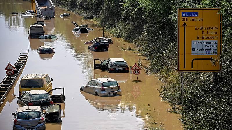 España a las 8 Fin de Semana - Luchar contra el cambio climático para evitar episodios como las inundaciones en Alemania - Escuchar ahora