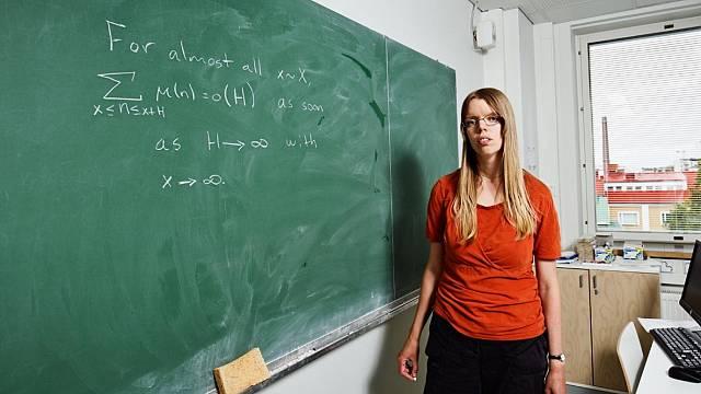 Kaisa Matomäki, la musa de los números primos