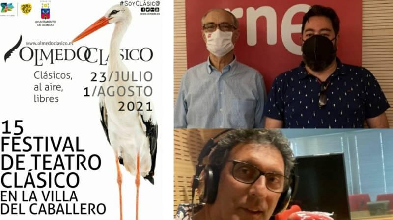La sala - Olmedo Clásico (Benjamín Sevilla, Germán Vega) y Rafael Rodríguez, de 2RC Teatro con 'El galán fantasma' - 20/07/21 - Escuchar ahora