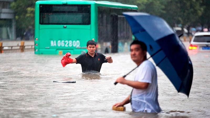 14 horas - Las inundaciones en el centro de China dejan, al menos, 25 fallecidos y 100.000 evacuados - Escuchar ahora