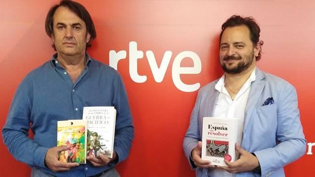 David Felipe Arranz autor del libro 'España sin resolver'