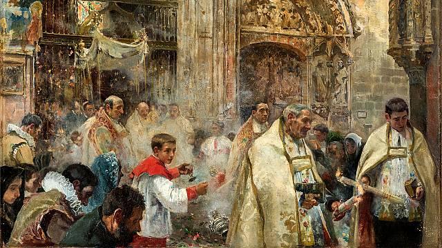 Una cara desconocida de Sorolla: su pintura religiosa