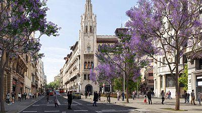 L'Ajuntament de Barcelona preveu començar la transformació de la Via Laietana l'estiu del 2022