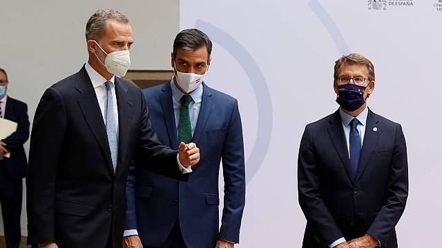 El rey preside la reunión del Patronato de Santiago