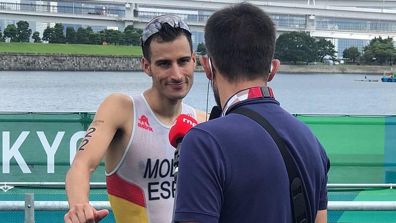 """Especial Juegos Olímpicos de Tokyo - Mario Mola: """"He tratado de pelear cada puesto"""" - Escuchar ahora"""
