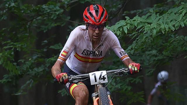"""David Valero, bronce en mountain bike: """"Aún no me lo creo"""""""