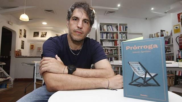 Antonio Agredano presenta su novela 'Prórroga'