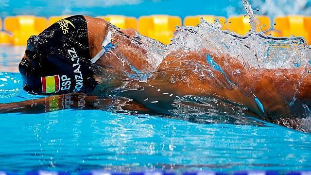 Hugo Oliveira, sexto en los 100 espalda