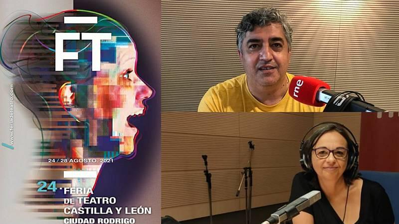 La sala - En Ciudad Rodrigo, la 24 Feria de Teatro de Castilla y León: Manuel J. González y Nina Reglero (La Nave del Calderón) - 03/08/21 - Escuchar ahora