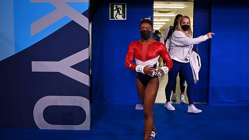 """Las Mañanas de RNE - Paloma del Río: """"Biles ha dado un paso de gigante. No vale todo en gimnasia, no vale todo en el deporte"""" - Escuchar ahora"""