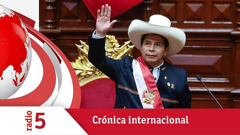Crónica internacional - Castillo propone una nueva Constitución para Perú - Escuchar ahora