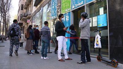 Catalunya tancat el primer semestre amb 478 mil aturats