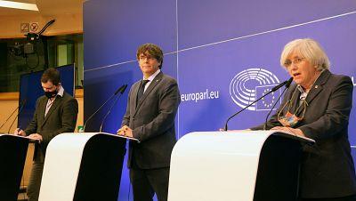 El Tribunal General de la UE retira la immunitat a Puigdemont, Comín i Ponsatí