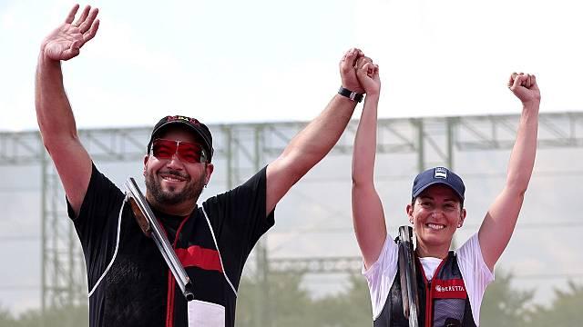 Fátima Gálvez y Alberto Fernández, primer oro