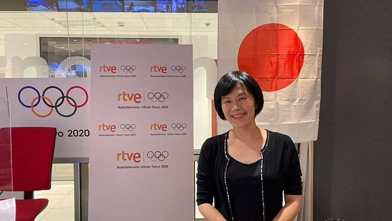 Especial Juegos Olímpicos de Tokyo - Taeko Kojima, nuestra profe de japonés favorita - Escuchar ahora