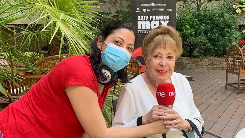 La sala - Gemma Cuervo, Premio Max de Honor, con Paloma Cortina - 03/08/21 - Escuchar ahora