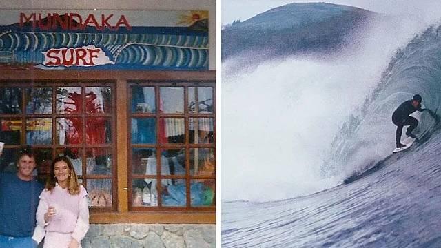 El surfista que dejó Australia por las olas vascas