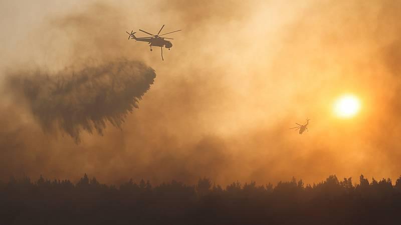 """14 horas - Incendios en Grecia: """"Amanecimos conun escenario de pesadillaen Atenas"""" - Escuchar ahora"""