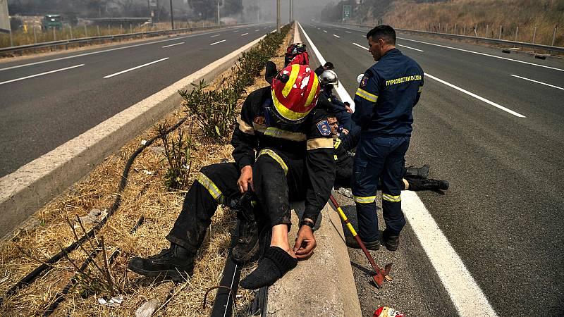 24 horas - La cruda situación de los incendios en Europa - Escuchar ahora
