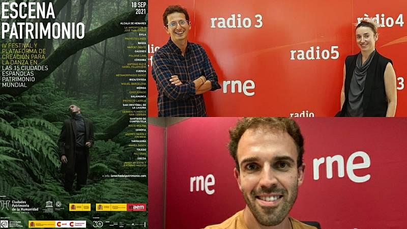 La sala - IV Escena Patrimonio: Lorenzo Pappagallo, Iratxe Ansa y Miquel Barcelona - 12/09/21 - Escuchar ahora