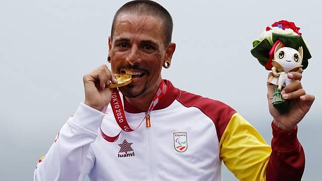 Sergio Garrote, campió paralímpic de ciclisme en handbike