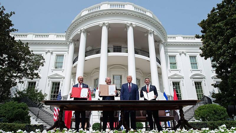 Reportajes 5 Continentes - Un año de la firma de los Acuerdos de Abraham - Escuchar ahora