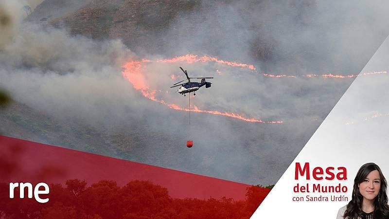 24 horas - Mesa del mundo: incendios, fenómenos extremos y cambio climático  - Escuchar ahora