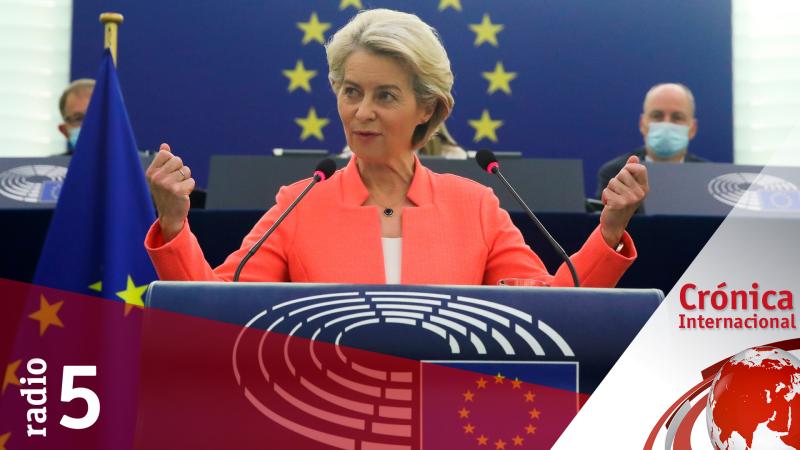 Crónica Internacional - Von der Leyen reivindica el europeísmo en la gestión de la pandemia - Escuchar ahora
