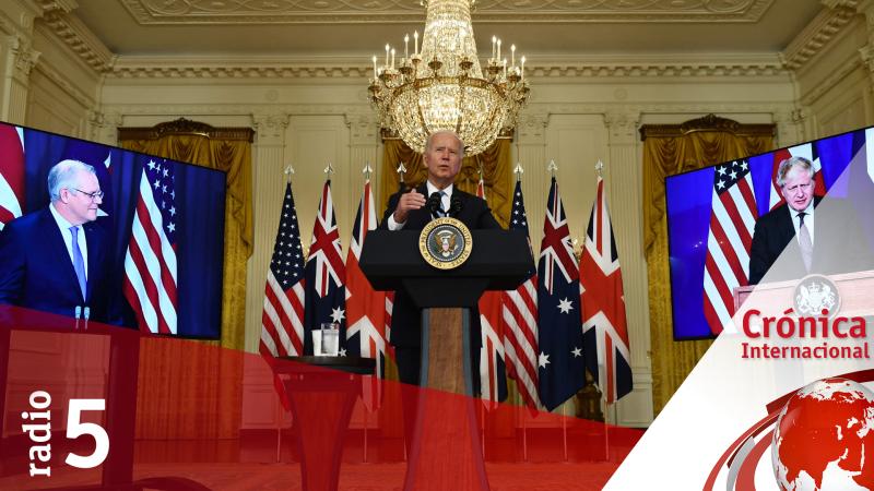 Crónica Internacional - EEUU refuerza sus alianzas frente a China - Escuchar ahora