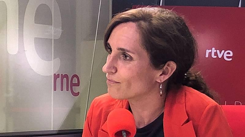 """Madrid Informativos - RNE -  Mónica García: """"La homofobia no está en la cabeza de la izquierda, está expandiéndose en nuestras calles"""" - Escuchar ahora"""