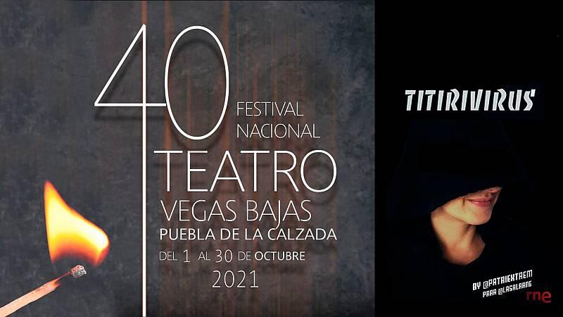 La sala - 40º Festival Nacional de Teatro Vegas Bajas en Puebla de la Calzada, por Patricia Estremera - 22/09/21 - Escuchar ahora