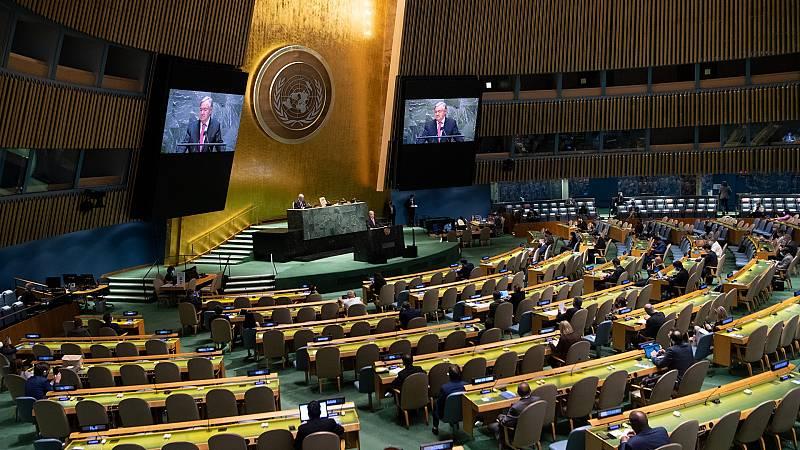 Somos cooperación - España con Naciones Unidas ante los desafíos del mundo - 24/09/21 - escuchar ahora