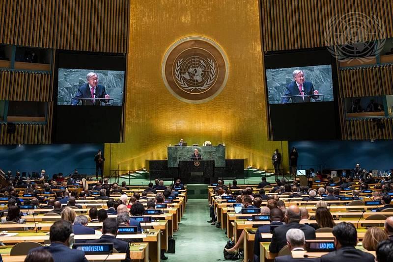 Asamblea General de la ONU marcada por el cambio climático y la pandemia