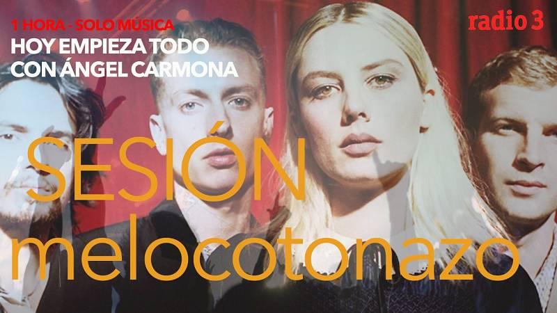 Hoy empieza todo con Ángel Carmona - #SesiónMelocotonazo: Wolf Alice, Chvrches, Goa... - 22/09/21 - escuchar ahora
