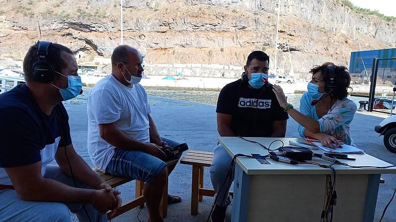 Por tres razones - Los pescadores de La Palma no saben cuándo podrán volver a faenar - Escuchar ahora