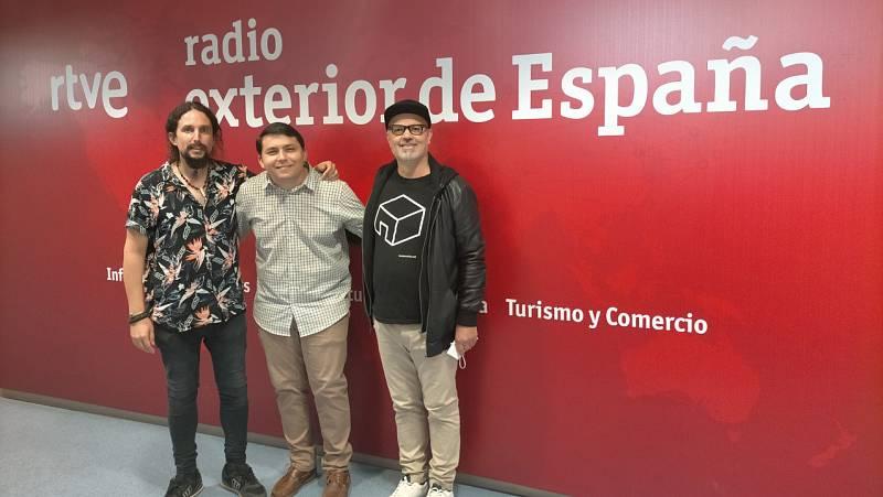 Hora América - Leo Minax + Lapurasangre en 'España y Brasil Unidos por la música' - 23/09/21 - escuchar ahora