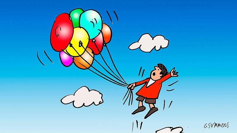 ¡Pero qué invento es esto! - Los globos y el incidente del niño del globo - Escuchar ahora